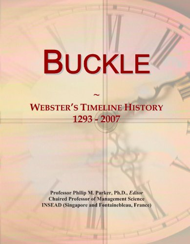 buckle-websters-timeline-history-1293-2007