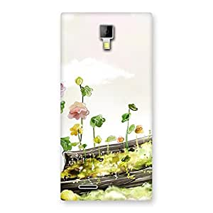 Fence Landscape Back Case Cover for Micromax Canvas Xpress A99