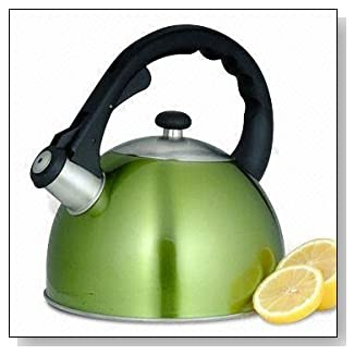 Creative Home Satin Splendor 2.8-Quart Whistling Tea Kettle