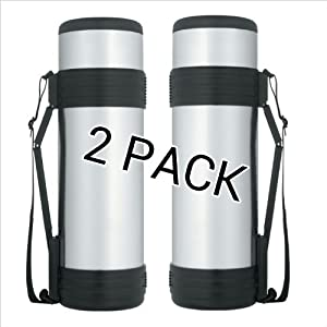 Thermos Nissan 61 Ounce Stainless Steel Bottle with Folding Handle (2)