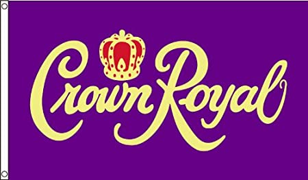NEOPlex 3' x 5' Crown Royal Novelty Flag