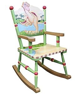 Teamson Kids Boys Rocking Chair - Dinosaur Kingdom Room Collection by Teamson
