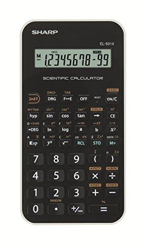 Sharp EL501XBWH Calcolatrice Scientifica