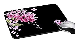 meSleep PD-03-096 Floral Mouse Pad (Multicolor)