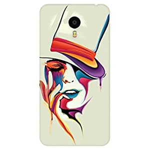 GripIt Painted Woman Case for Meizu M3 Note