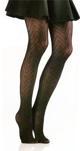 Women's Valencia Textured Fashion Tights by Foot Traffic