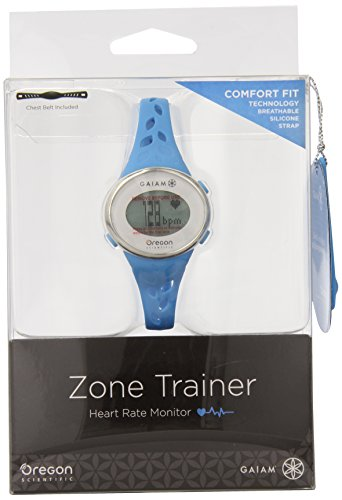 Buying Oregon Scientific SE331 Gaiam Zone Trainer 3.0 Watch, Blue