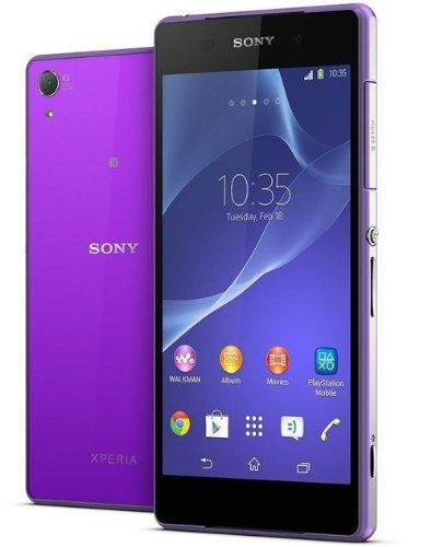 Sony Xperia Z2 D6503 Factory Unlocked International Verison No Warranty - Purple