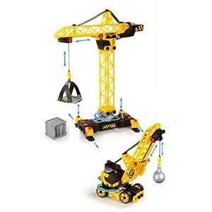 Smoby 500156 jeu de construction set 2 grues jeux et jouets - Jeux de grue de construction gratuit ...