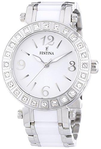 Festina-Damen-Armbanduhr-Klassik-Ceramic-Analog-Quarz-verschiedene-Materialien-F166431