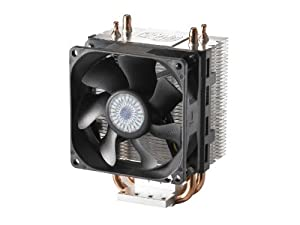 Cooler Master Hyper 101a - CPU Cooler with 2 Direct Contact Heat Pipes - AMD Version (RR-H101-22FK-RA)