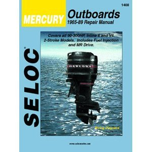 Seloc Service Manual Mercury Outboards - 6Cyl - 1965-89 primary