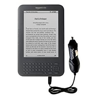 Rapid Car / Auto Charger for the Amazon Kindle Latest Generation (Wi-Fi Free 3G 6in. 9.7in.)