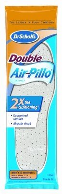 Dr. Scholl's Insoles Air-Pillo Cushioning with Memory Foam