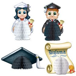 Graduation Playmates   (4/Pkg)