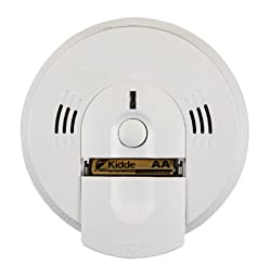 Kidde KN-COSM-BA Battery-Operated Combination Carbon Monoxide and Smoke Alarm with Talking Alarm, 6-Pack