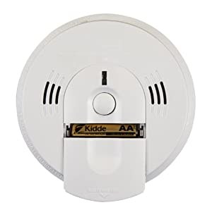 Kidde KN-COSM-BA Battery-Operated Combination Carbon Monoxide and Smoke