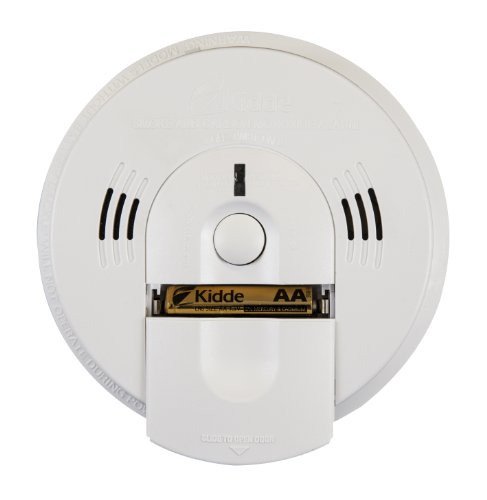 Kidde KN-COSM-IBA Hardwire Combination Smoke/Carbon Monoxide Alarm with Battery Backup and Voice Warning, Interconnectable (Carbon Monoxide Detector Black compare prices)