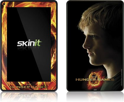 Skinit The Hunger Games -Peeta Mellark Vinyl Skin for Amazon Kindle Fire