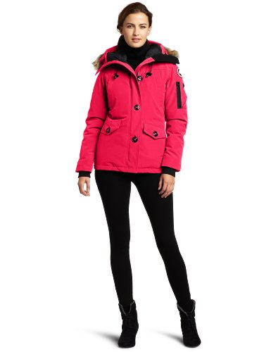 Canada Goose Women's Montebello Parka,  Summit Pink,  Large