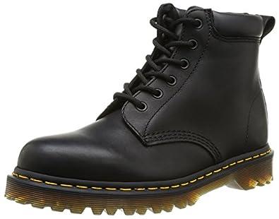 Dr Martens 939 Ben Boot Greasy, Boots mixte adulte - Noir (Black Greasy), 36 EU (3 UK)