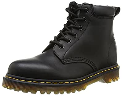 Dr Martens 939 Ben Boot Greasy, Boots mixte adulte - Noir (Black Greasy), 36 EU (3 UK)