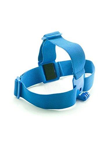 Fnkaf Elastic Adjustable Head Strap For Gopro Hd Hero 1 2 3 Action Sports Video Cameras Blue
