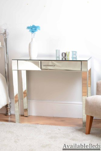 Luxury Mirrored Dressing Console / table ZOE