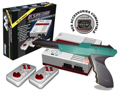 Fc Super Loader Console For Nes Games Red front-650033