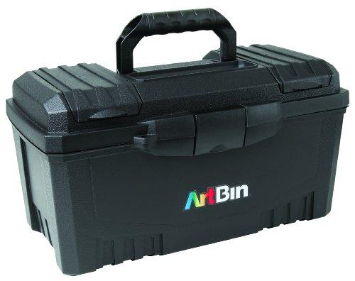 ArtBin 17-Inch Twin Top Tool Box- Black Art Supply Storage Box, 6918AB (Art Supply Box compare prices)
