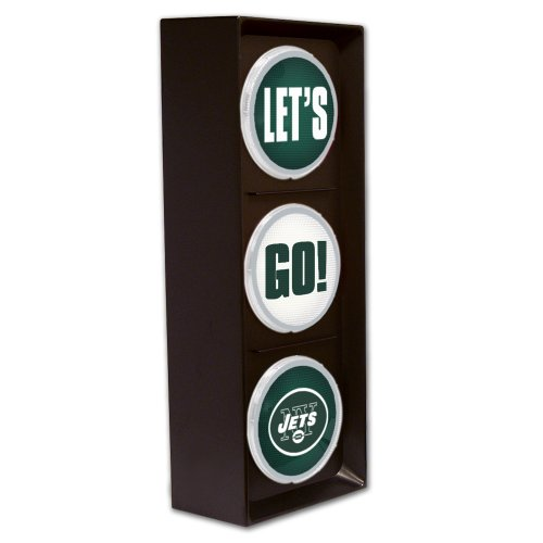 New York Jets Flashing Let's Go Light