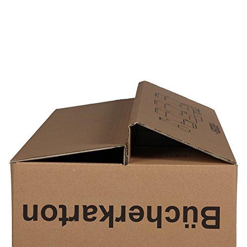 5 Scatole per Libri (Pro) Stabile 2-Onde - Movimento Cartone Scatole Libri Di Imballaggio Del ...