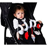 Redkite Bertie Bear Twisty Spiraloo Activity Toy Ideal For Car Seats & Pushchairs