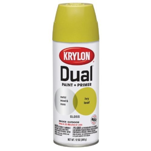 krylon-8810-dual-paint-and-primer-12-ounce-aerosol-gloss-ivy-leaf-by-krylon