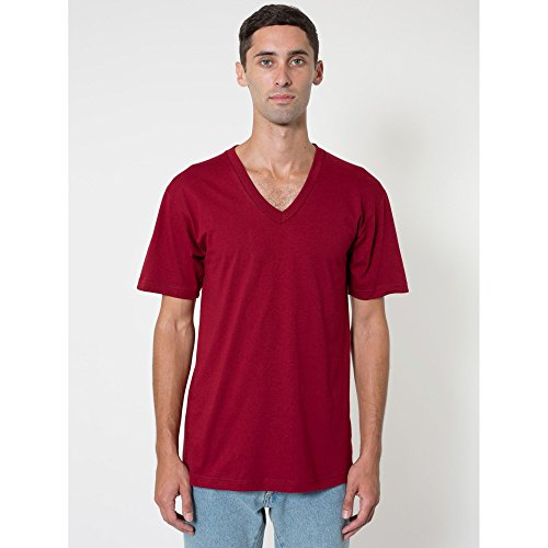 american-apparel-unisex-t-shirt-mit-v-ausschnitt-kurzarm-large-cranberry