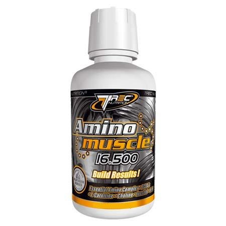 Amino Muscle 16,500 mg 473 ml -- Worlds Best Amino Acid Liquid -- BCAA's + L-Carnitine + Choline