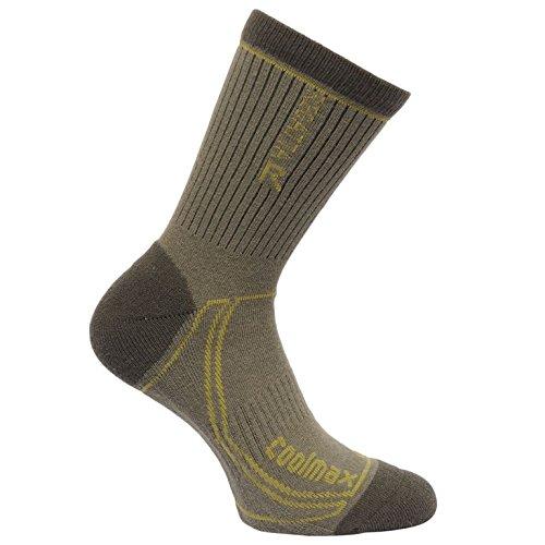 regatta-mens-2-season-coolmax-trek-trail-sock-dusty-olive-dark-spring-9-12