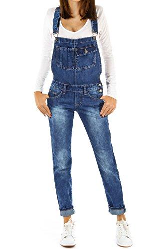 Bestyledberlin Pantaloni Jeans Donna, Salopette j12fn S
