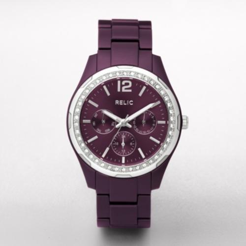 RELIC Starla Purple Multifunction Watch