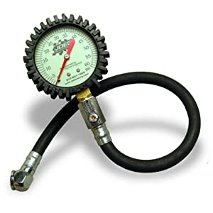 JOE'S TIRE PRESSURE GAUGE, 0 - 60 PSI