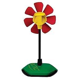 ARCTIC Breeze USB Desktop Fan with Flexible Neck and Adjustable Fan Speed, Gooseneck Fan, Limited Rasta Design