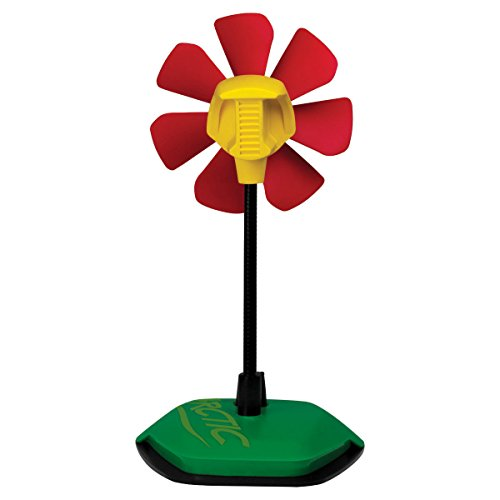 ARCTIC Breeze USB Desktop Fan with Flexible Neck and Adjustable Fan Speed, Gooseneck Fan, Limited Rasta Design