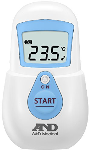 エー・アンド・デイ 非接触体温計UT-701(でこピッと)ブルー