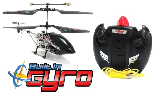 GYRO Metal Saber 3.5CH Electric RTF RC Remote Control Helicopter (Color May Vary)