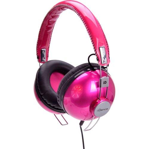 Idance Hipster 702 Headband Headphones - Hot Pink & Black