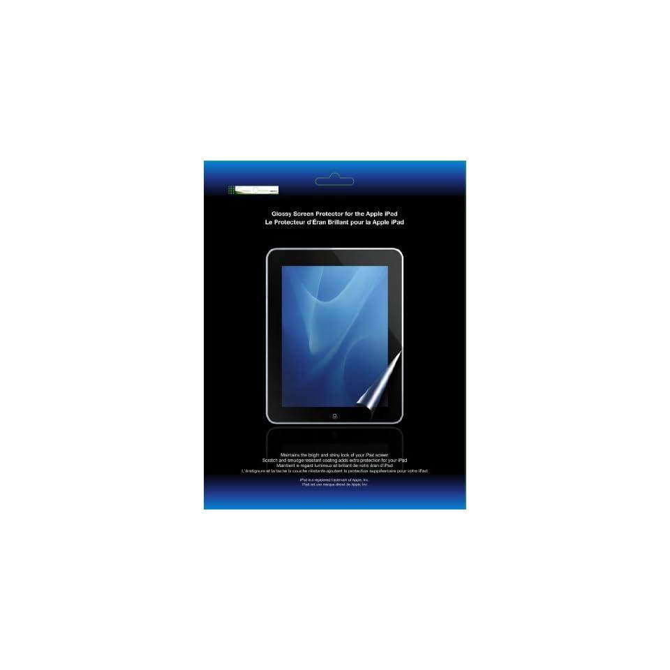Green Onions Glossy Screen Protector for Apple iPad (RT SPIPAD01)
