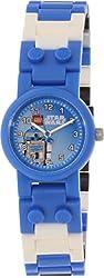 LEGO Kids' 8020318 Star Wars R2D2 Plastic Watch With Minifigure