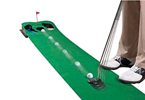 "Putt 'n Hazard Putting Mat (Green) (9'L x 20""W)"