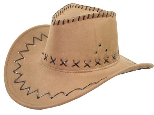Cappello da cowboy Wild West, Western country messicano Marron 03
