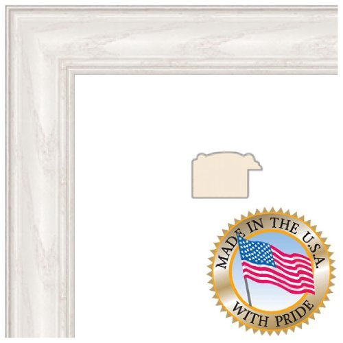 ArtToFrames 24x35 inch Off White Wash on Ash Wood Picture Frame, 2WOM0151-59504-475-24x35 (24 X 35 Frame compare prices)